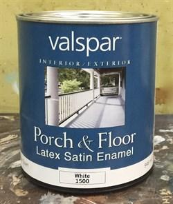 Эмаль для стен и полов, Valspar Porch&Floor – Acryl Latex Enamel - фото 4487