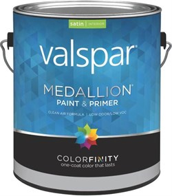 Полуматовая интерьерная краска с керамическим частицами Valspar MEDALLION Interior Satin - фото 4553