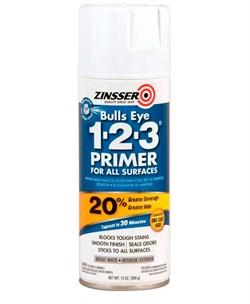 Универсальный Аэрозольный грунт Zinsser Bulls Eye 1-2-3 - фото 4705