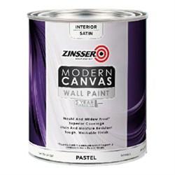 Водостойкая краска для внутренних работ Zinsser Modern Canvas Interior Paint - фото 4847