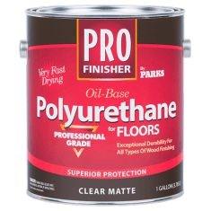 Профессиональный полиуретановый лак для пола PRO Finisher Oil Base Polyurethane - фото 4866