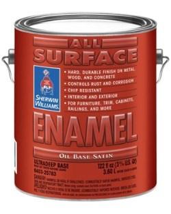 Алкидная антикоррозийная эмаль All Surface Enamel Oil Base - фото 4881