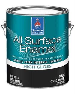 Универсальная водная эмаль All Surface Enamel Acrylic Latex - фото 4883