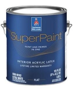 Интерьерная краска SuperPaint Interior Flat - фото 4993
