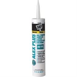 Универсальный акрил-латексный герметик DAP ALEX PLUS Acrylic Latex Caulk Plus Silicone Caulk - фото 5052