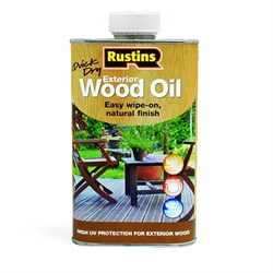 Защитная пропитка Rustins QD Exterior Wood Oil - фото 5119
