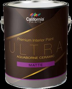 Керамическая краска для внутренних работ California Paints Ultra Aquaborne Ceramic - фото 5125
