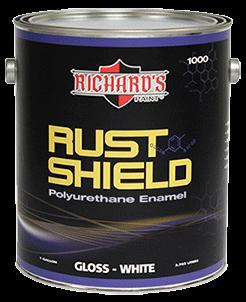Полиуретановая краска Richard's RUST Shield Industrial - фото 5129