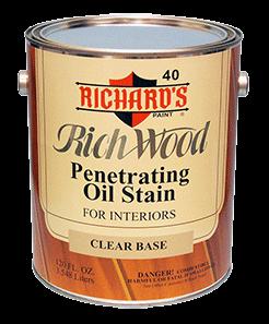 Интерьерная масляная пропитка Richard's Rich Wood Penetrating Oil Wood Stain - фото 5133