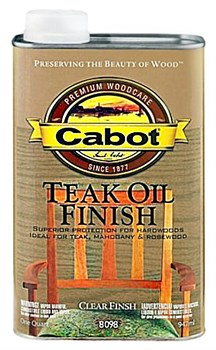 Cabot Teak Oil 0.946 L - фото 5172