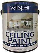 Краска для потолка, класса Премиум - Valspar Ceiling Paint 3.750 ml