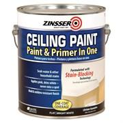 Краска ZINSSER для потолка самогрунтующаяся Ceiling Paint - Paint and Primer in One 3,760 мл