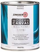 Водостойкая краска для внутренних работ Zinsser Modern Canvas Interior Paint