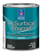 Универсальная водная эмаль All Surface Enamel Acrylic Latex
