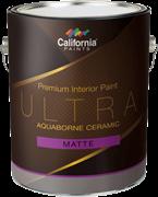 Керамическая краска для внутренних работ California Paints Ultra Aquaborne Ceramic