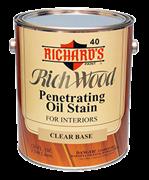 Интерьерная масляная пропитка Richard's Rich Wood Penetrating Oil Wood Stain