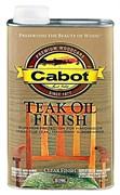 Cabot Teak Oil 0.946 L