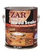 Бесцветное палубное масло по дереву ZAR CLEAR WOOD SEALER